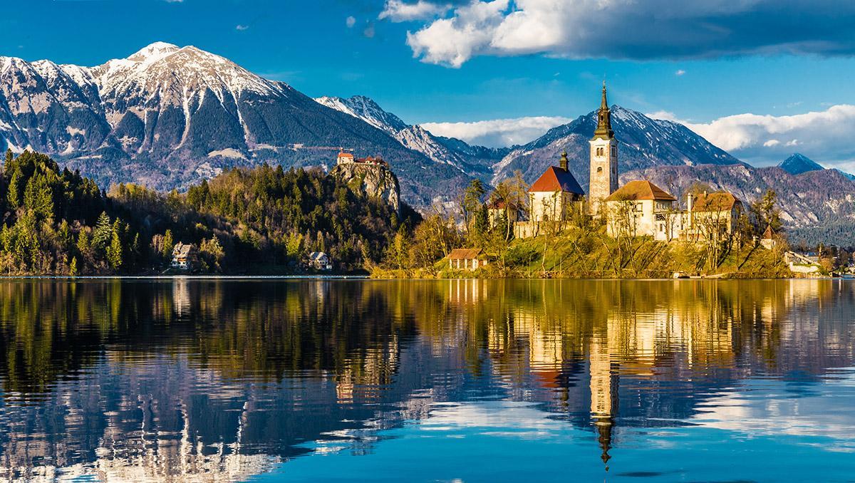 Los Alpes Julianos, Eslovenia
