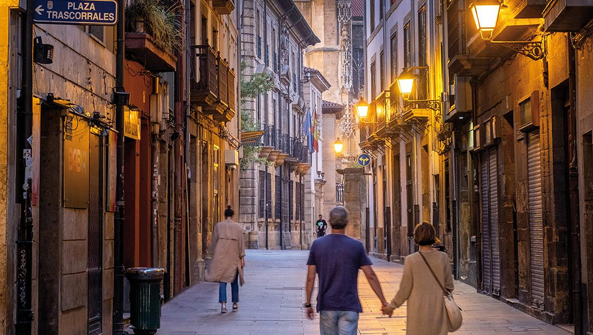 Calle Mon, Oviedo, Asturias, España