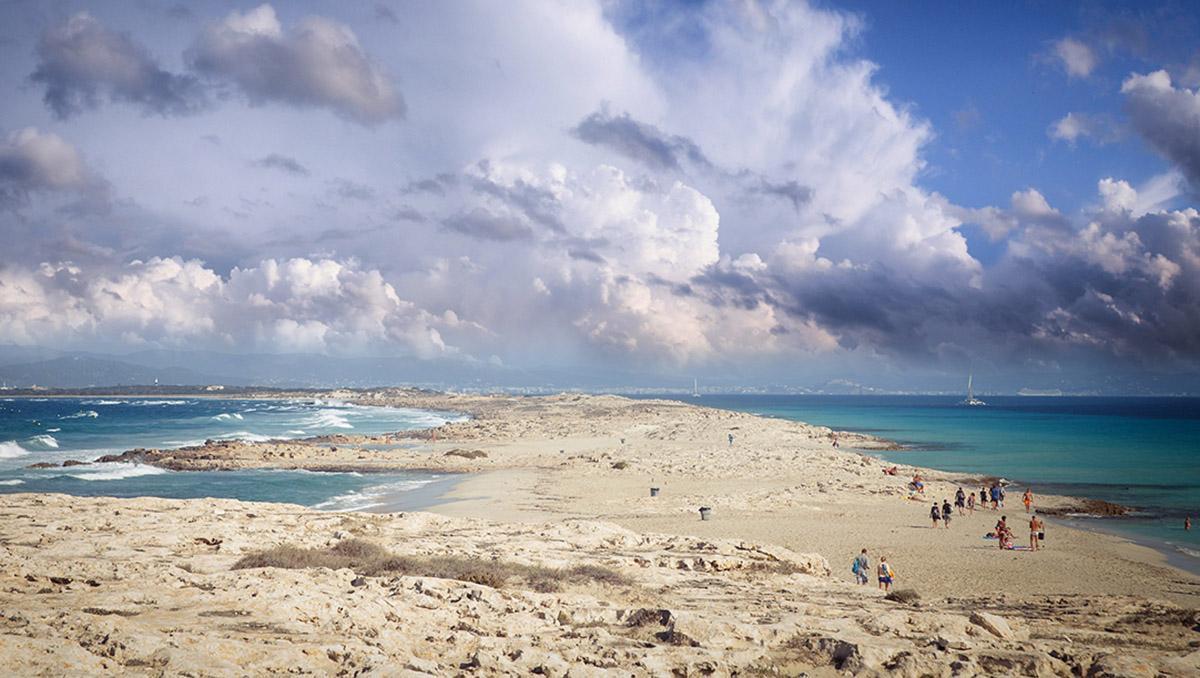 Playa de Es Trucadors, Formentera, Baleares, España