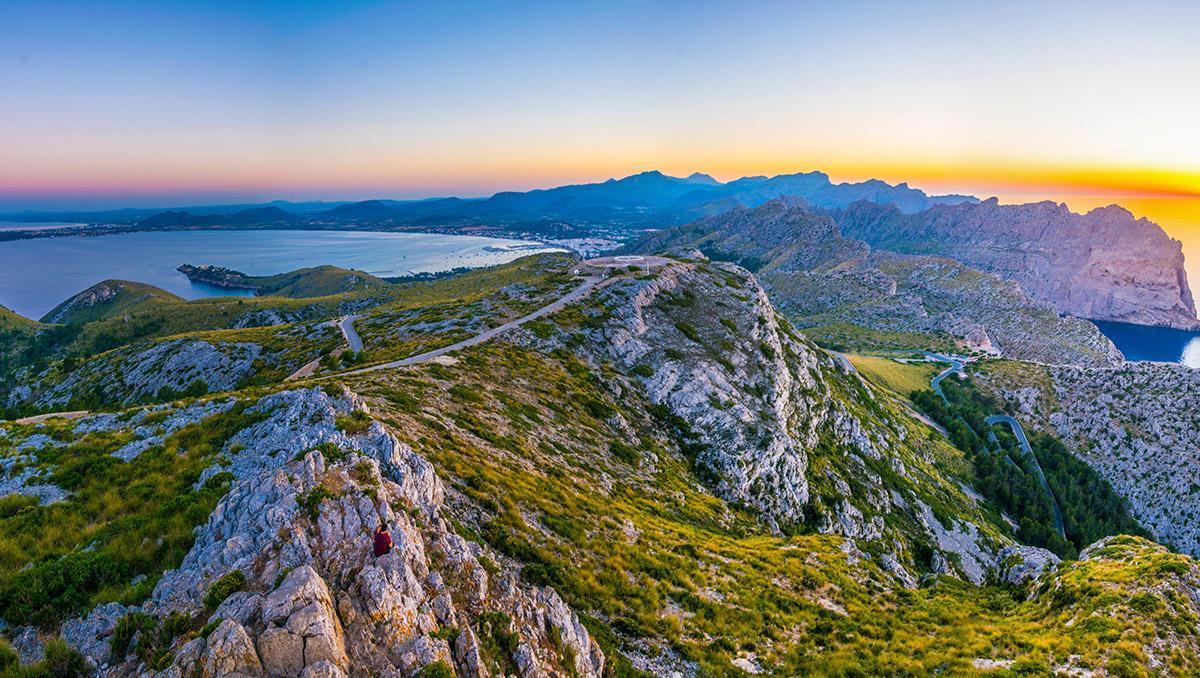 Pollença, Mallorca, Baleares, España. Uno de los pueblos más bonitos