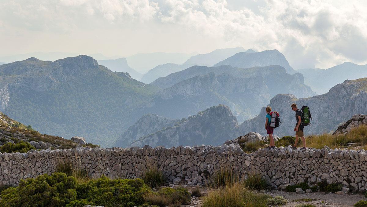 Ruta de piedra en seco o GR221 de Mallorca, Baleares, España