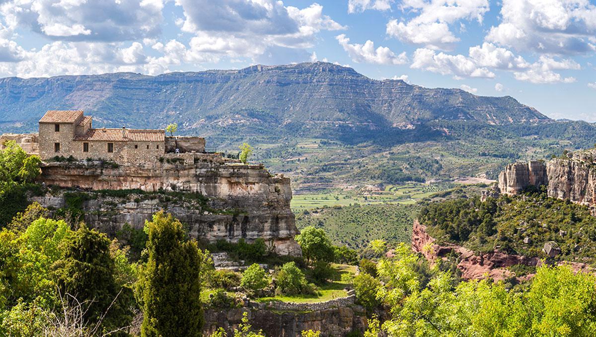 Siurana, pueblo de Tarragona, Cataluña, España