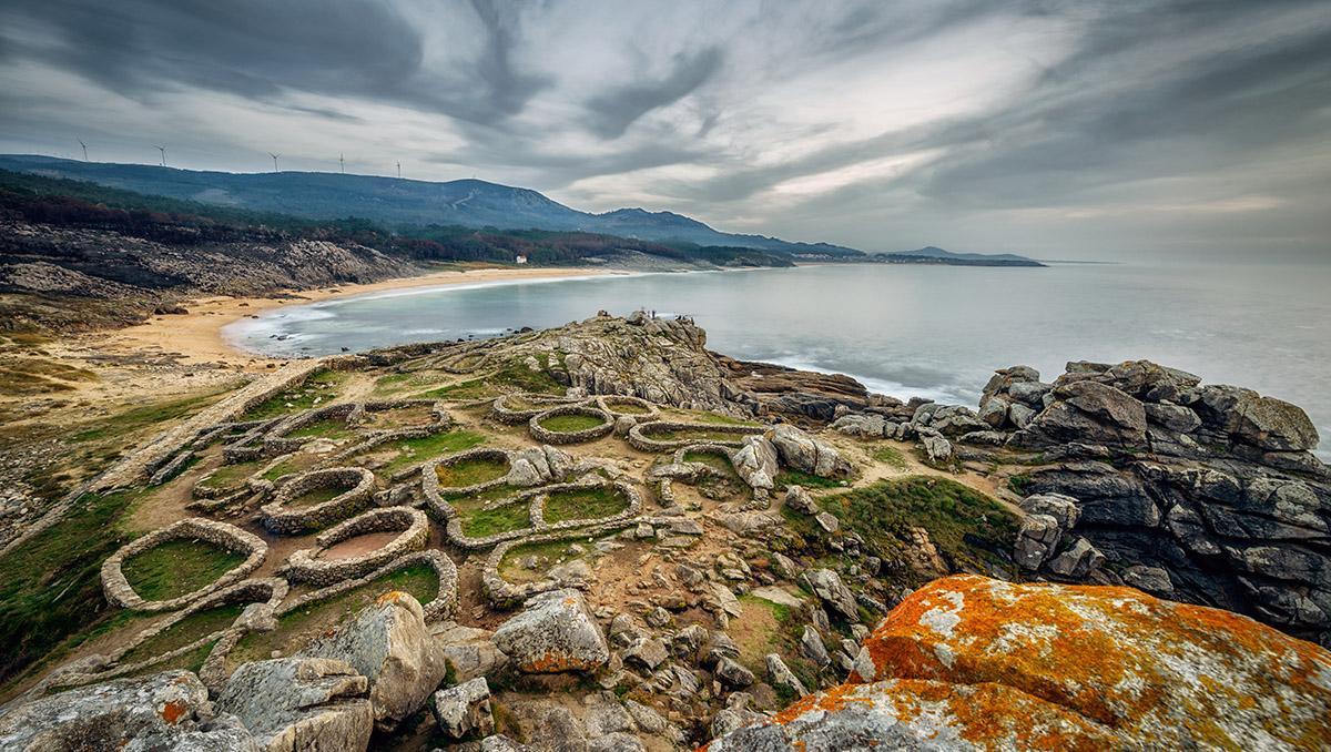 Castro de Baroña, Galicia, España