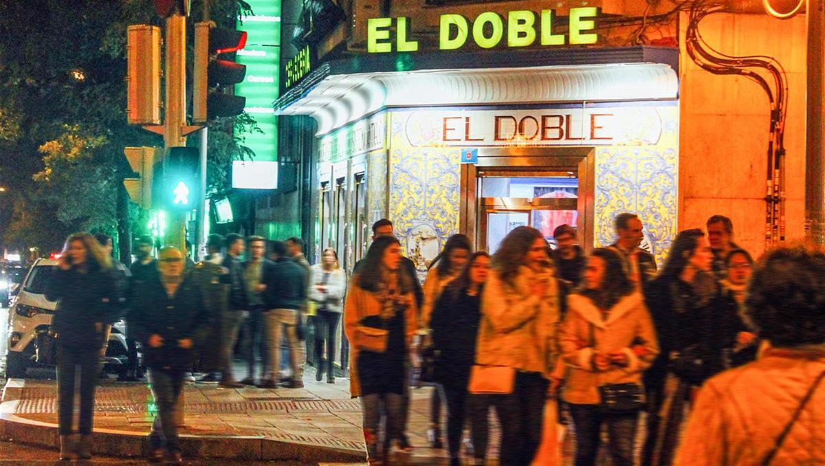 Calle Ponzano, Madrid, España