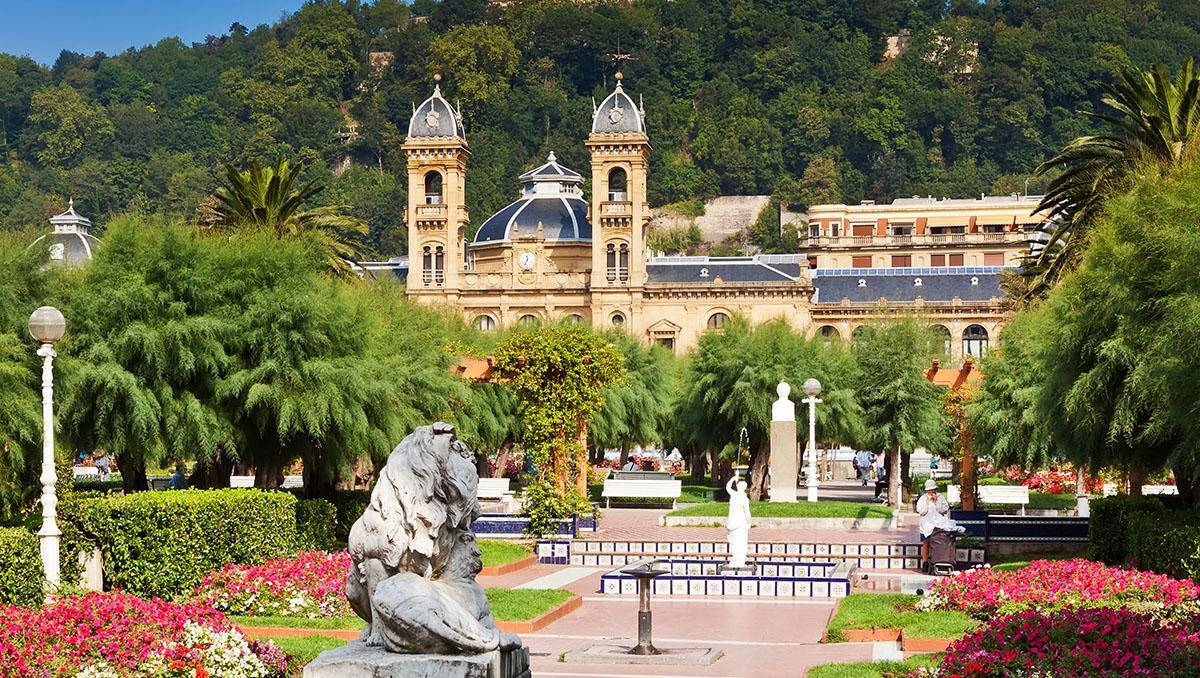 Parque de Alderdi Eder, San Sebastián, País Vasco, España