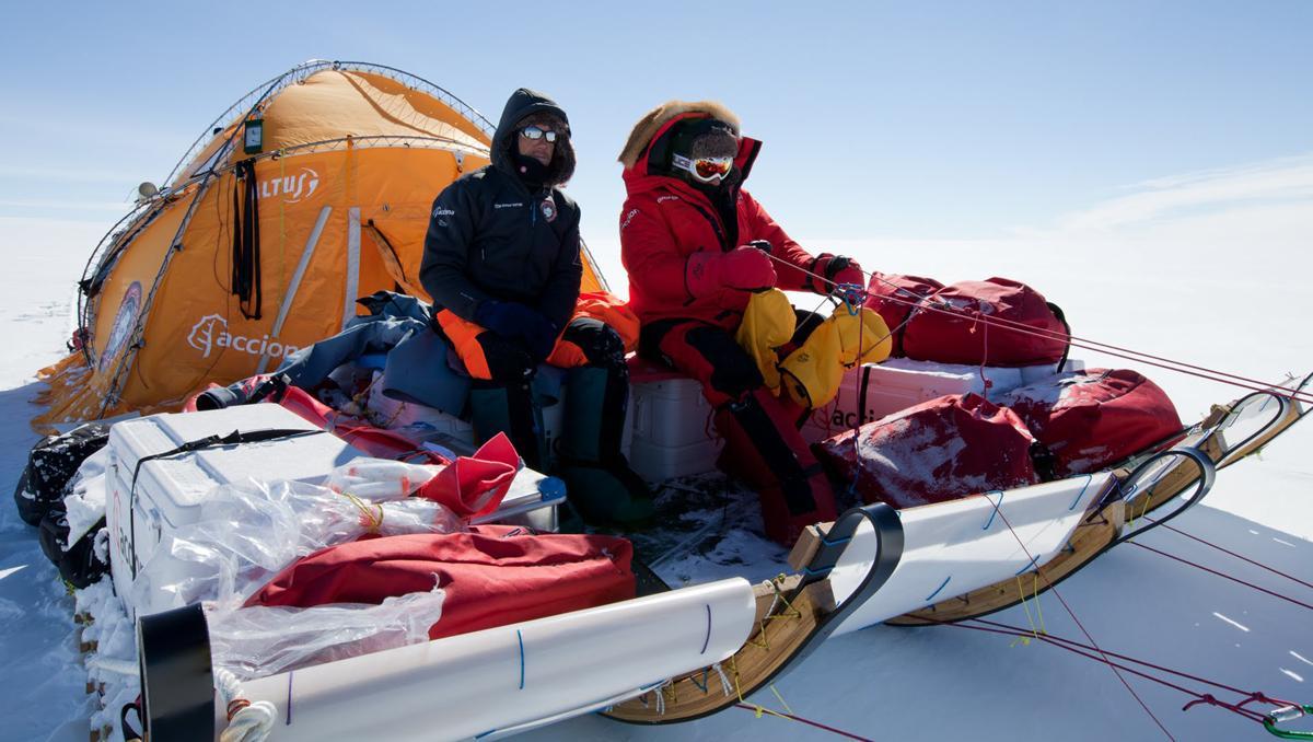Expedición Acciona Antártida 2011 - 2012 Ramón Larramendi