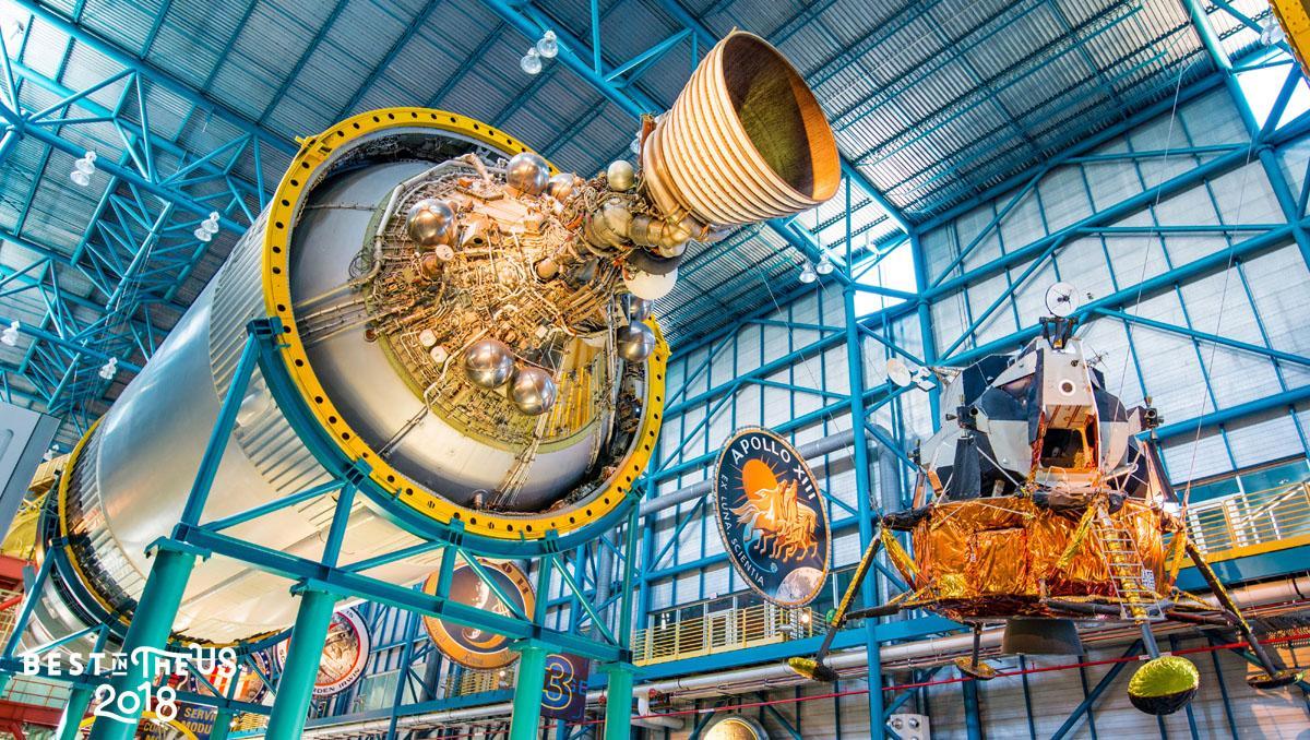 Kennedy Space Center, Merritt Island, Costa Espacial de Florida, EE UU