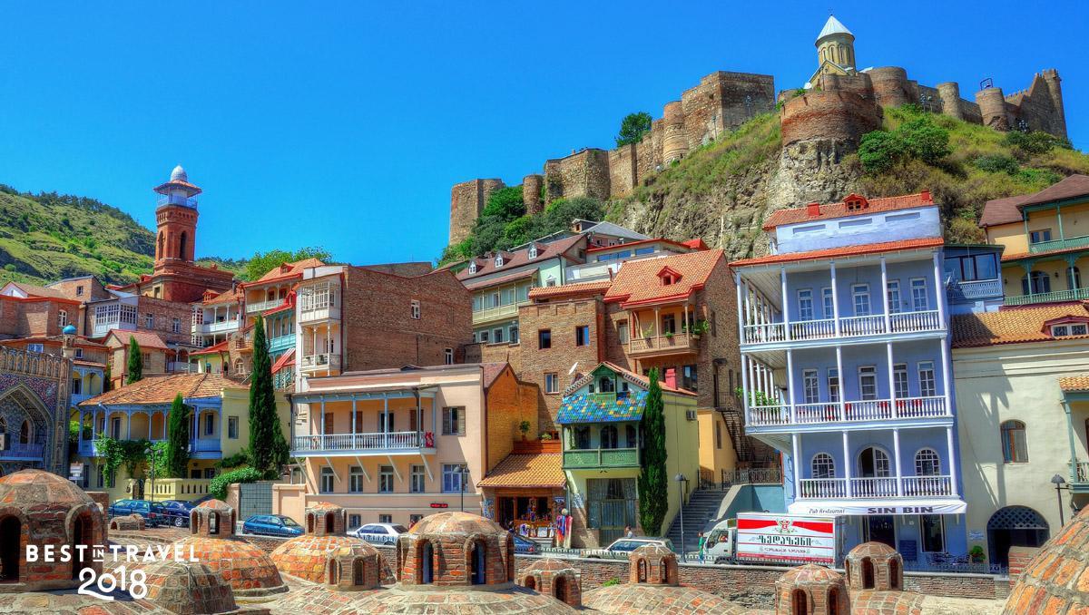 Fortaleza de Narikala, Tiflis, Georgia