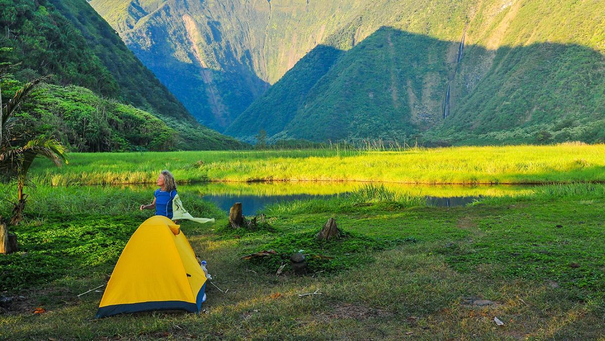 Ir de 'camping' en las vacaciones