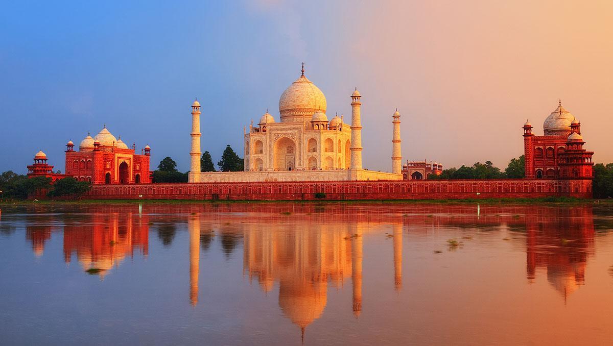 Taj, Mahal, India