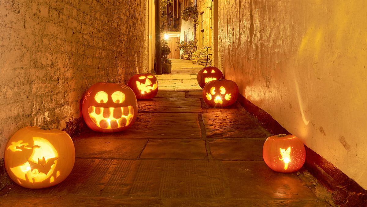 Halloween en Whitby, Inglaterra