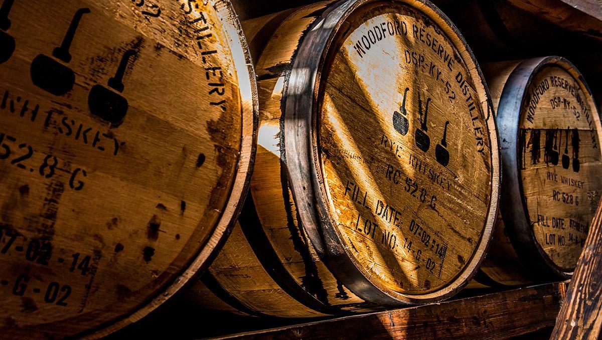 Barriles de 'bourbon', Kentucky, EE UU