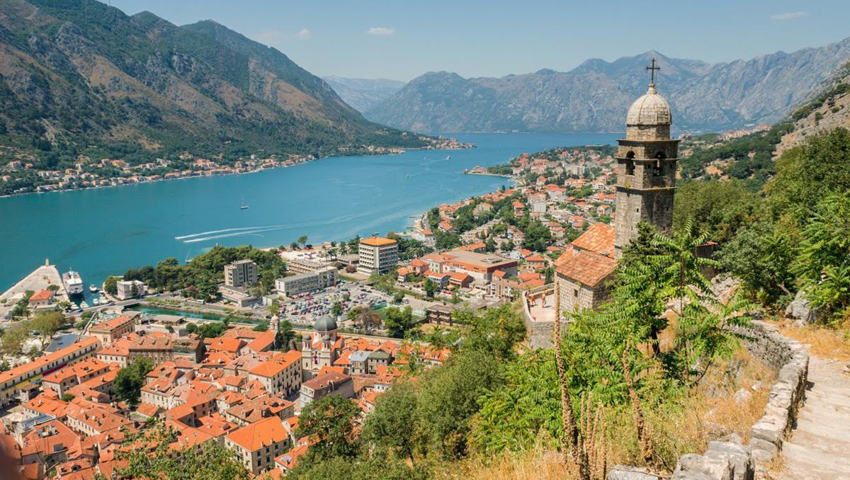 El impresionante entorno de Kotor, Montenegro