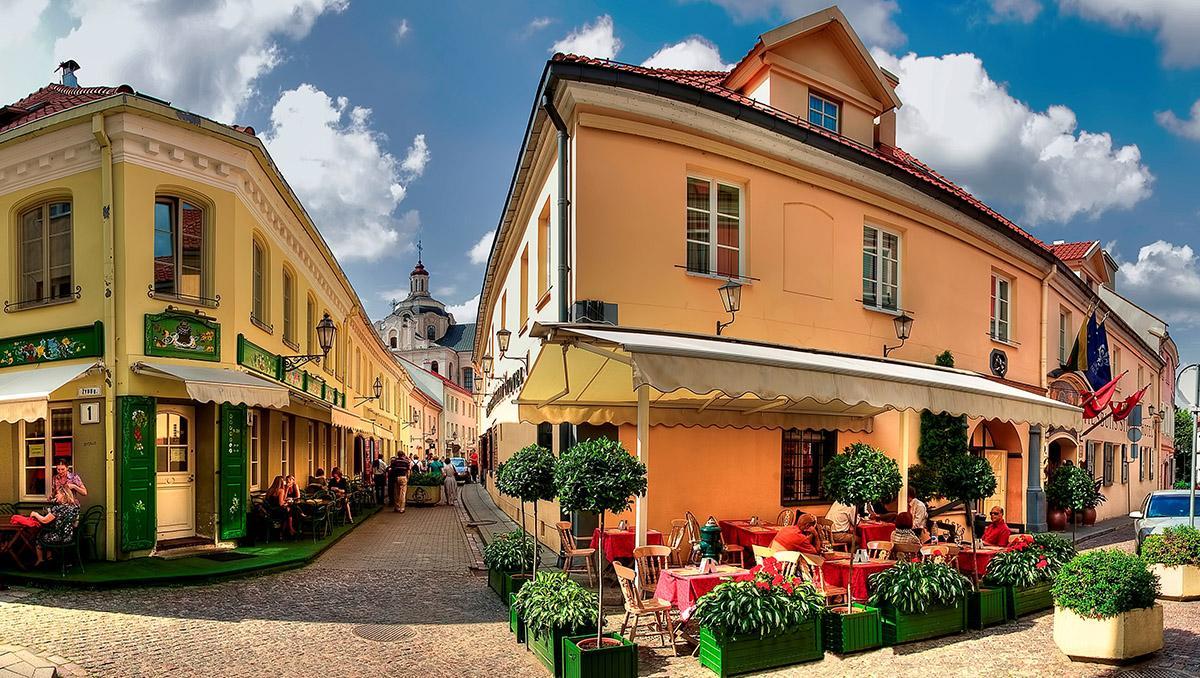 Vilna, la capital de Lituania