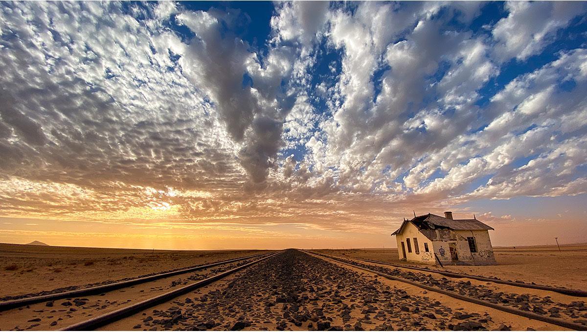 La ciudad fantasma de Kolmanskop, Namibia