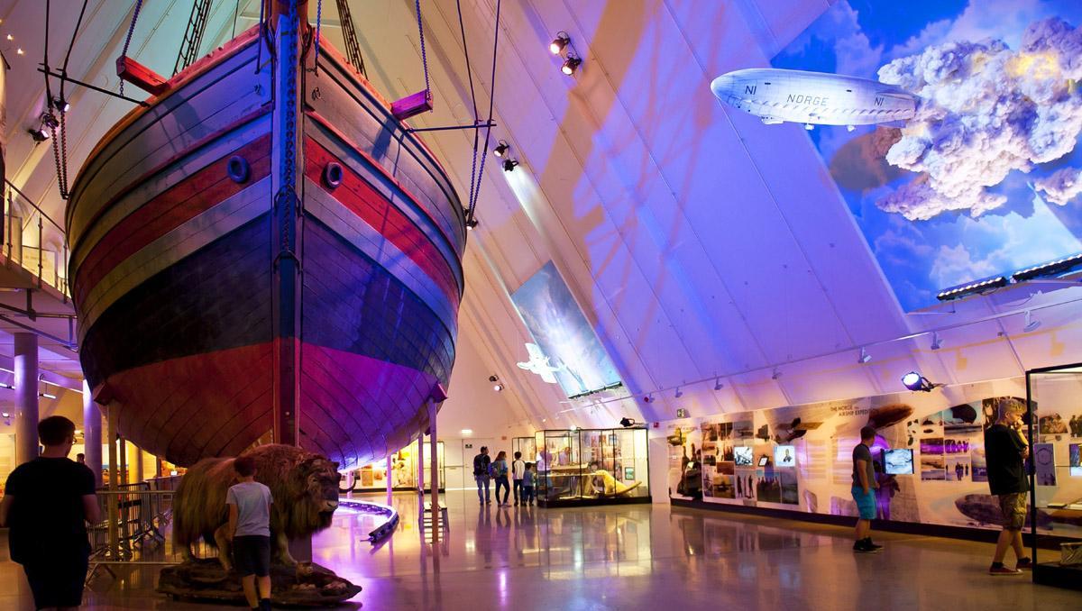 Fram Museum en familia, Oslo, Noruega