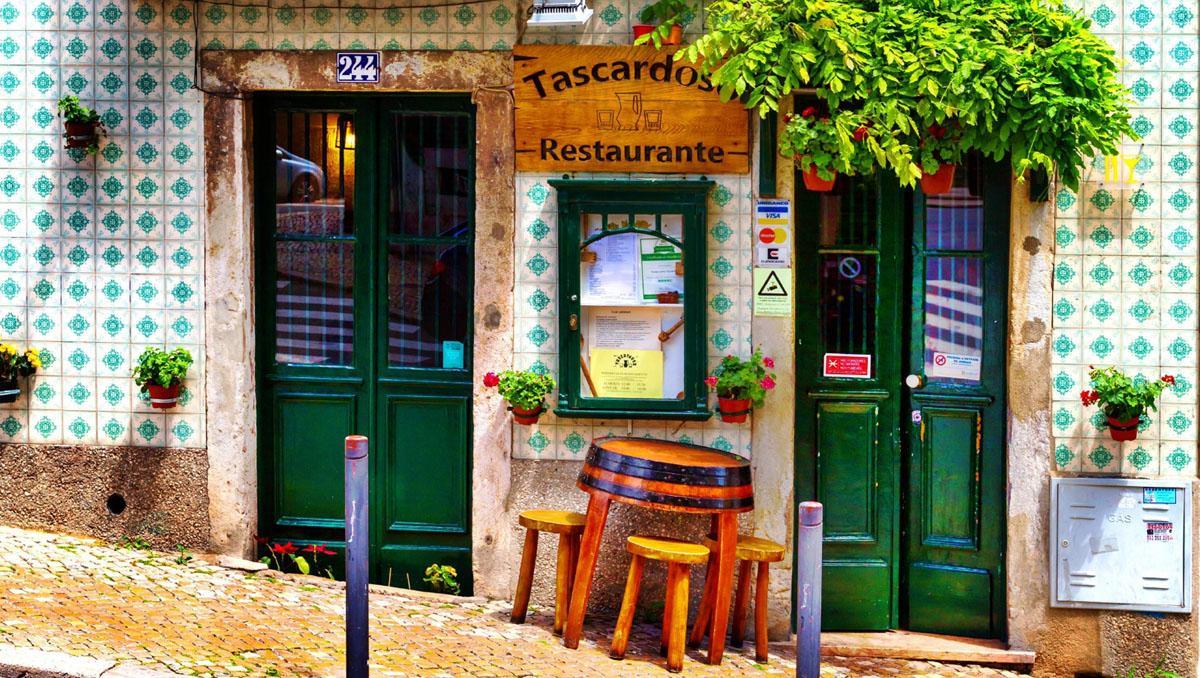 Restaurante en Lisboa, Portugal
