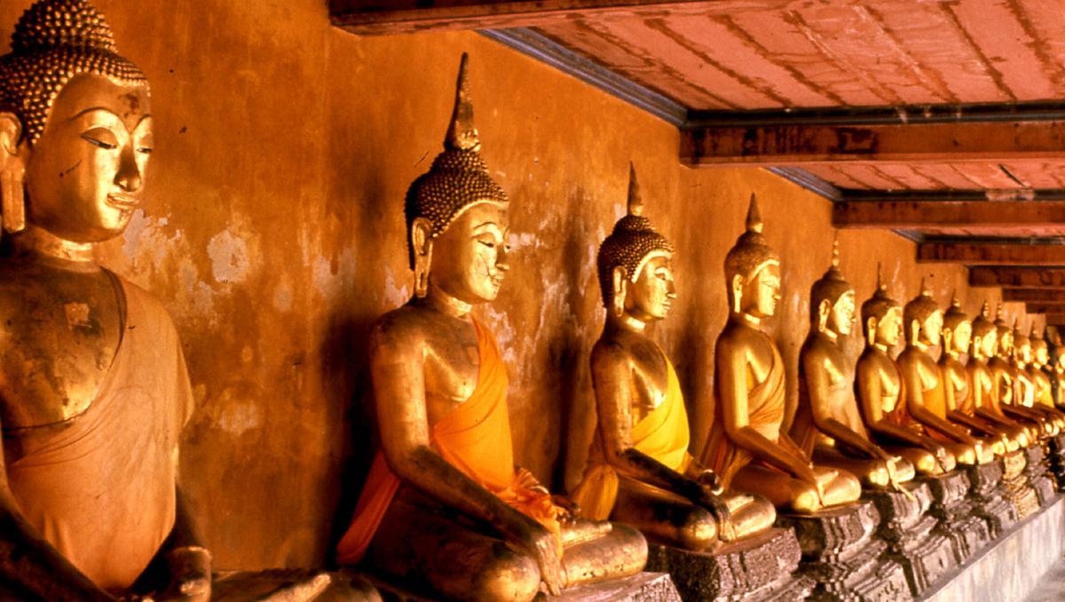 Templo Wat Mahathat, Bangkok, Tailandia