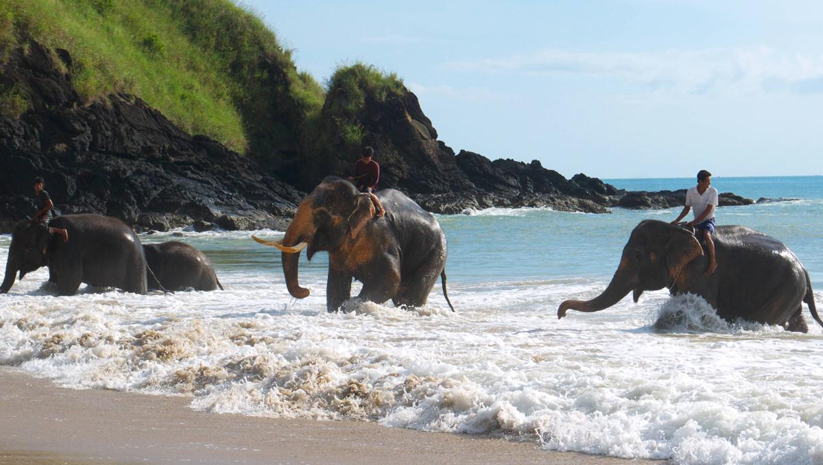 Klong Jark beach, Tailandia