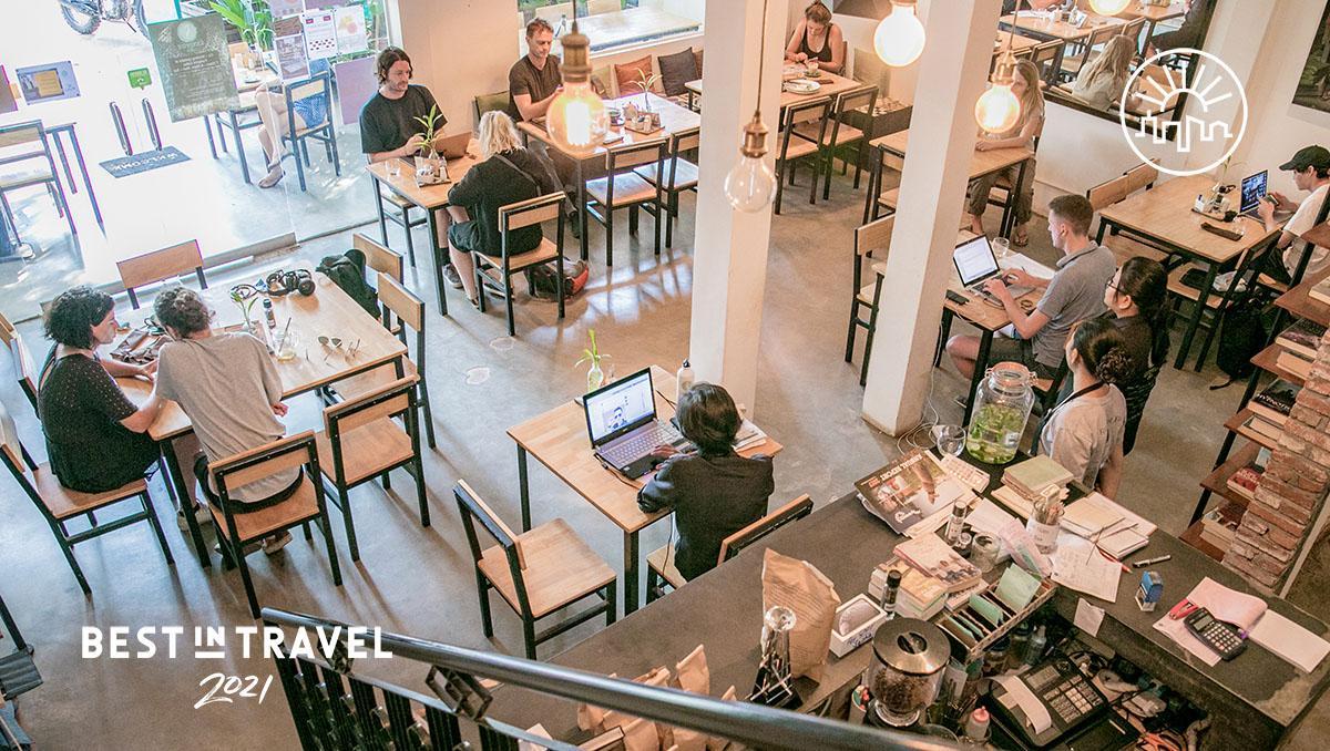 Turismo sostenible: Footprint Café, Siem Reap, Camboya