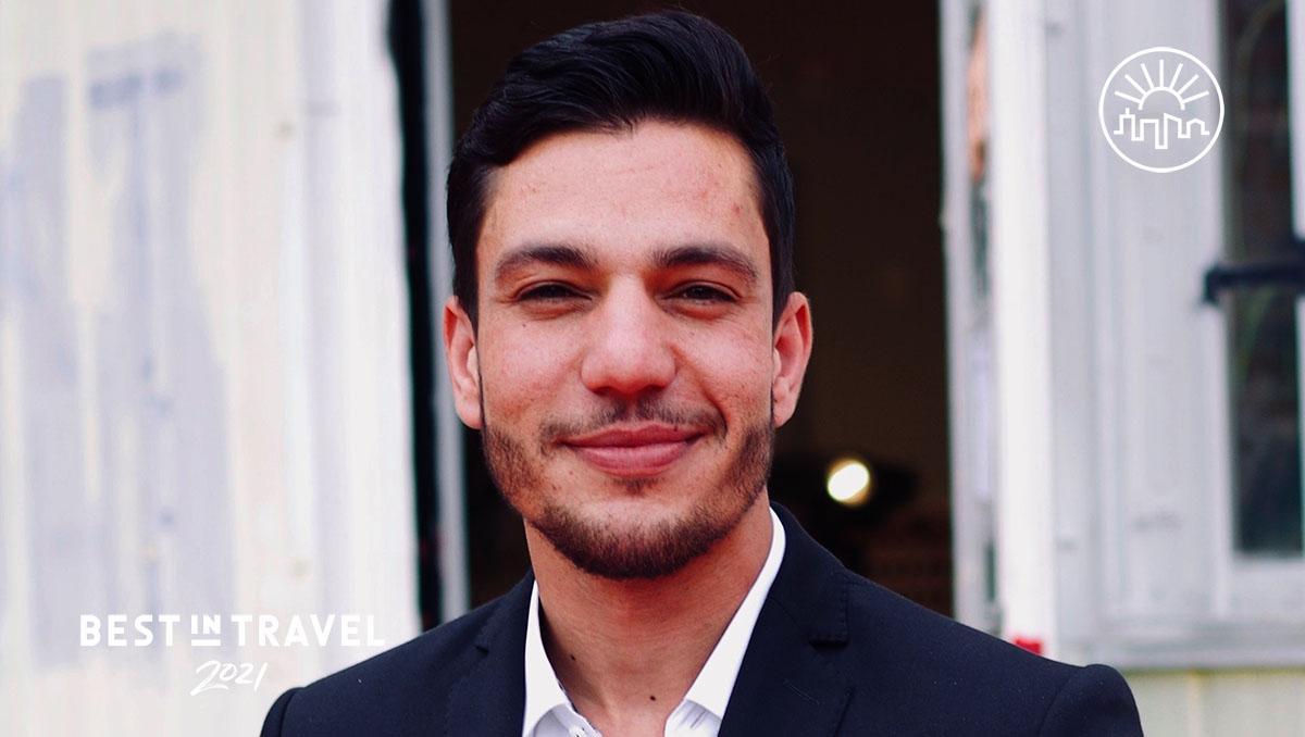 Turismo sostenible: Hesham, un refugiado sirio, trabaja como guía turístico en Berlín