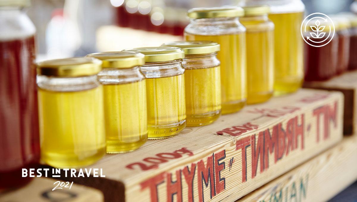 Turismo sostenible: gastronomía local sostenible, Grecia