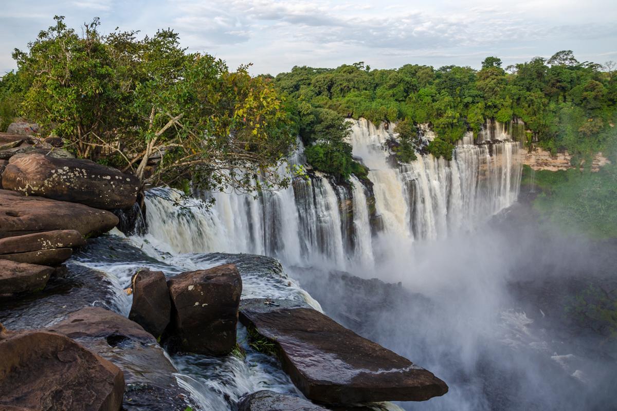 Cataratas Kalandula, Angola