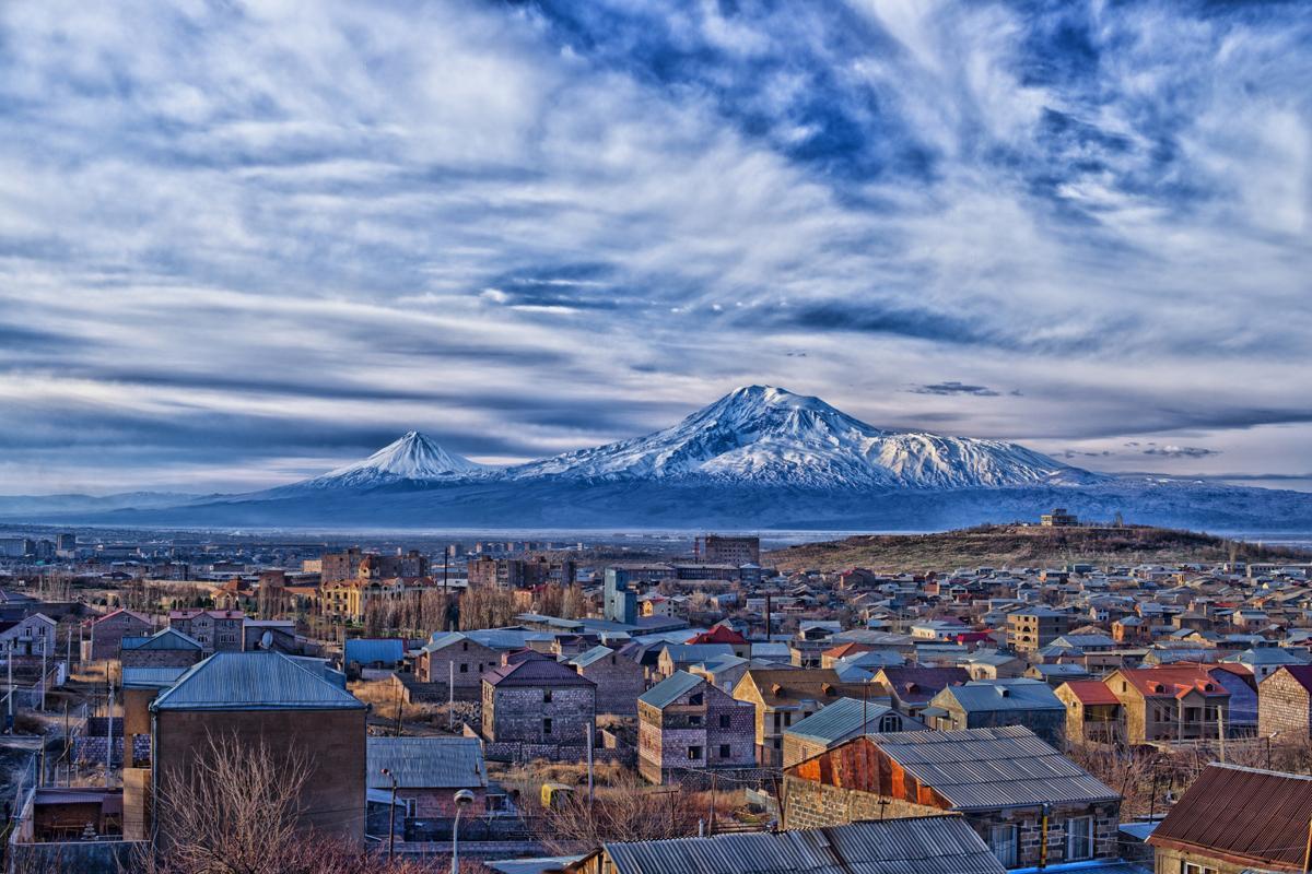 Yeravan y Monte Arat, Armenia