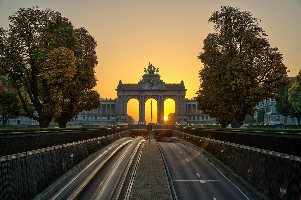 Parque Cincuentenario, Bruselas, Bélgica