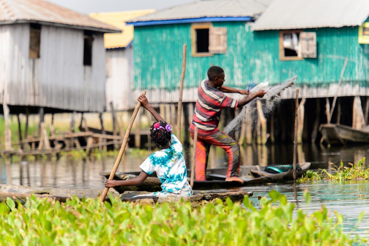 Ganvie, Benín