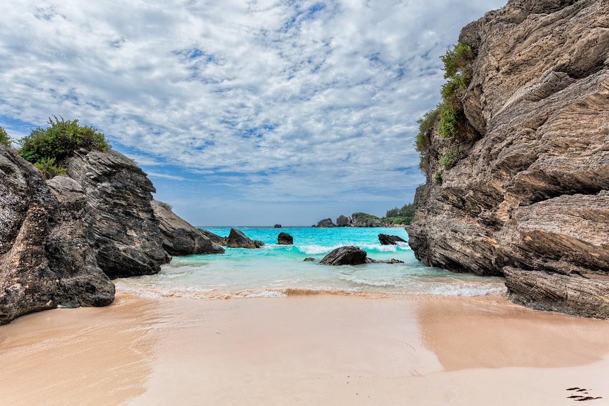 Horseshoe Bay, Southampton Parish, Bermudas