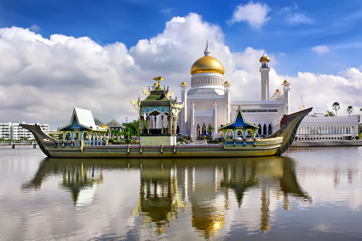 Mezquita Bandar Seri Begawan, Brunéi