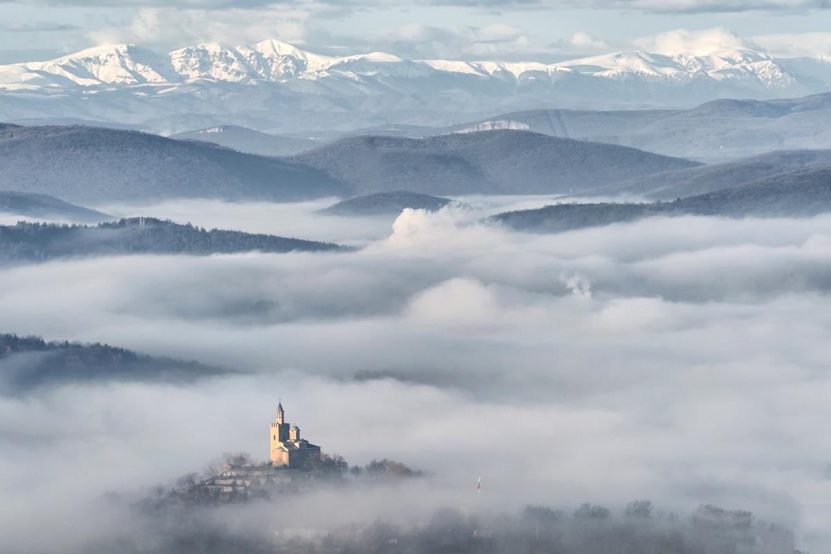 Castillo Tsarevets, Bulgaria