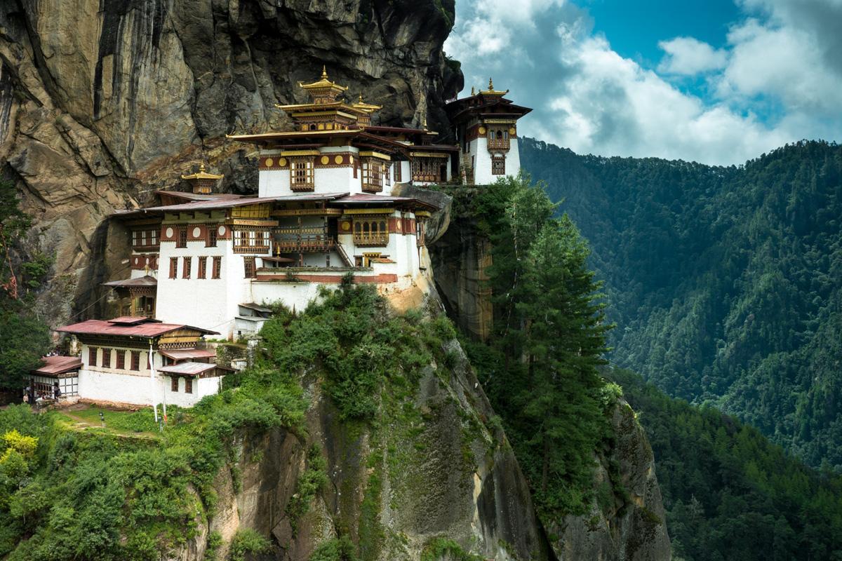 Taktshang Goemba, Bután