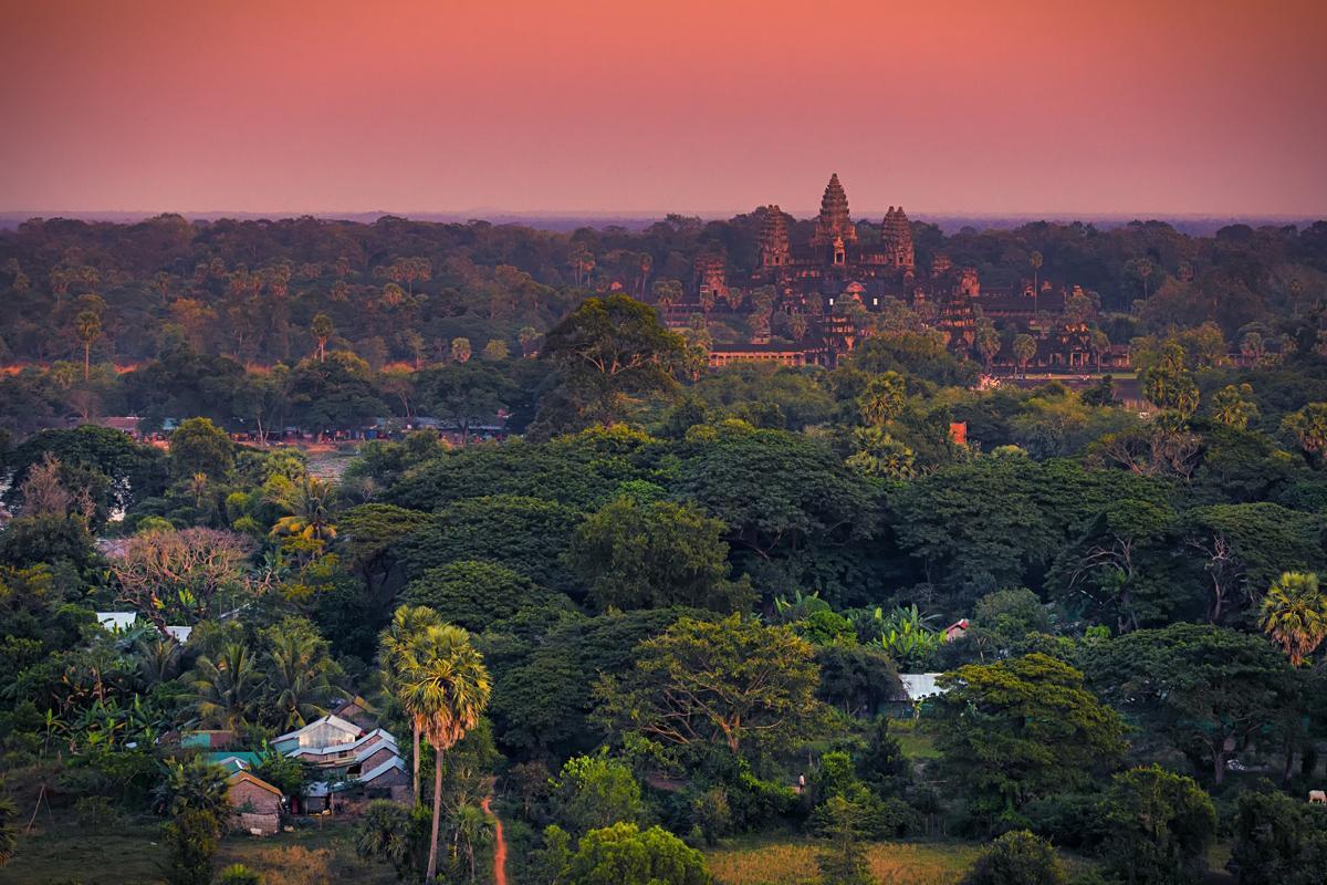 Angkor Wat, Siem Reap, Camboya