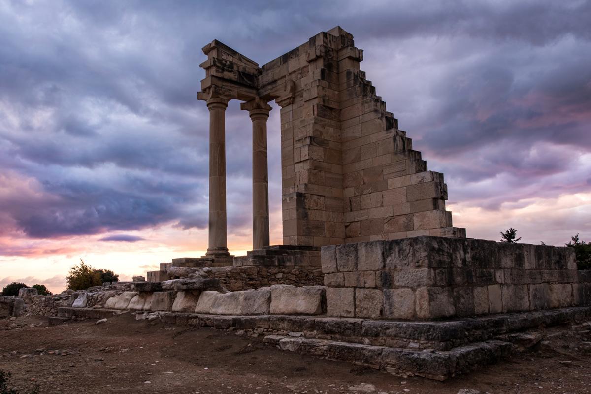 Templo de Apolo, Kourion, Chipre