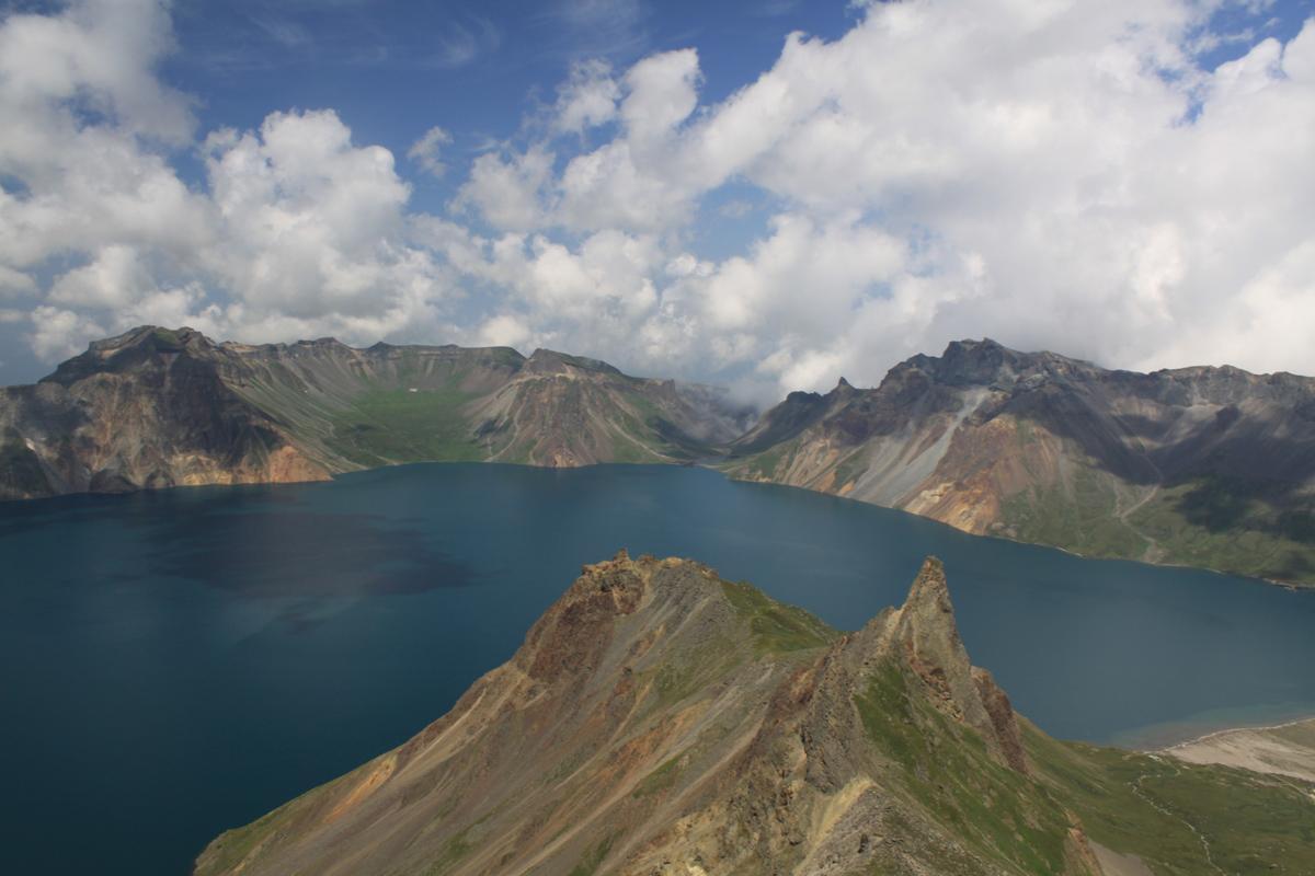 Monte Paekdu, lago Chon, Corea del Norte