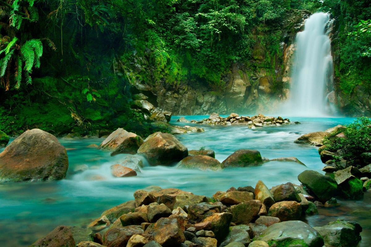 Río Celeste, Parque Nacional Volcán Tenorio, Costa Rica