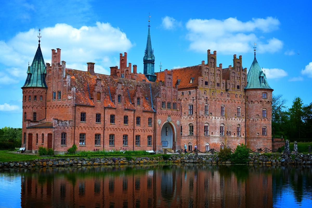 Castillo Egeskov, Dinamarca