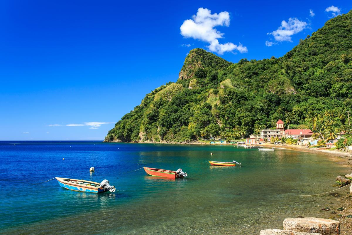 St. Mark, Soufriere Bay, Dominica