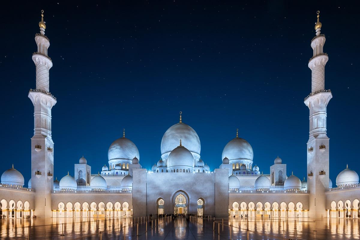 Gran Mezquita Sheikh Zayed, Abu Dhabi, Emiratos Árabes Unidos