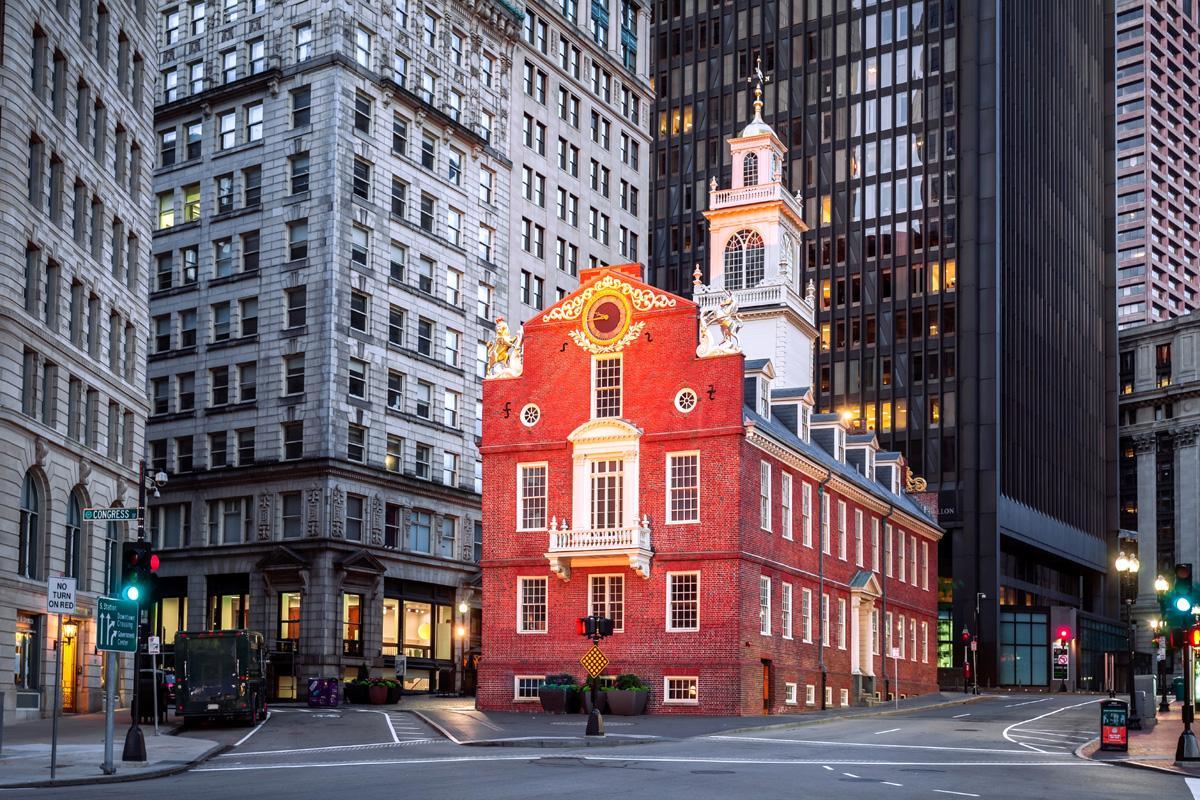 Old State House, Boston, Estados Unidos