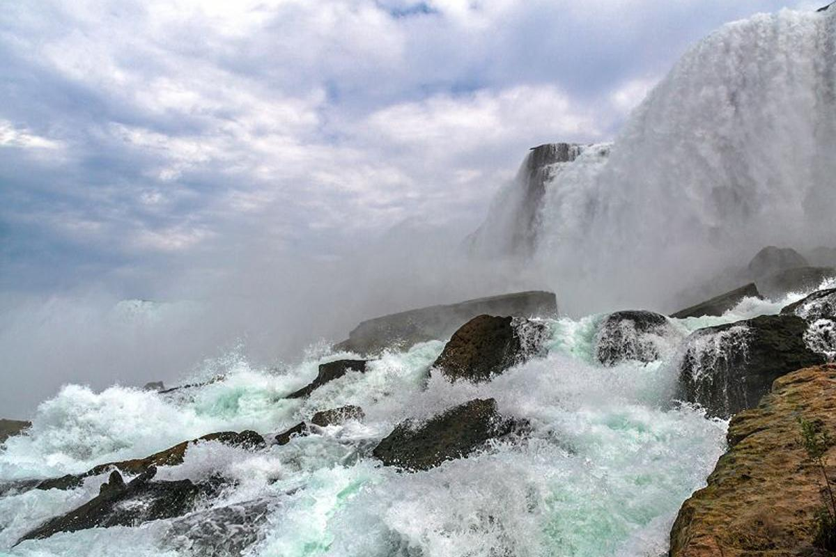 Cataratas del Niágara, costa este de Estados Unidos