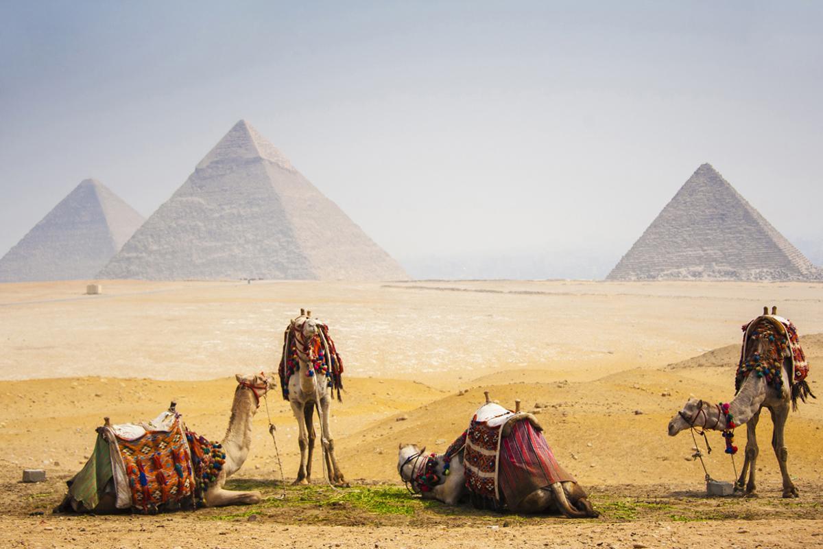 Pirámides Gizeh, El Cairo, Egipto