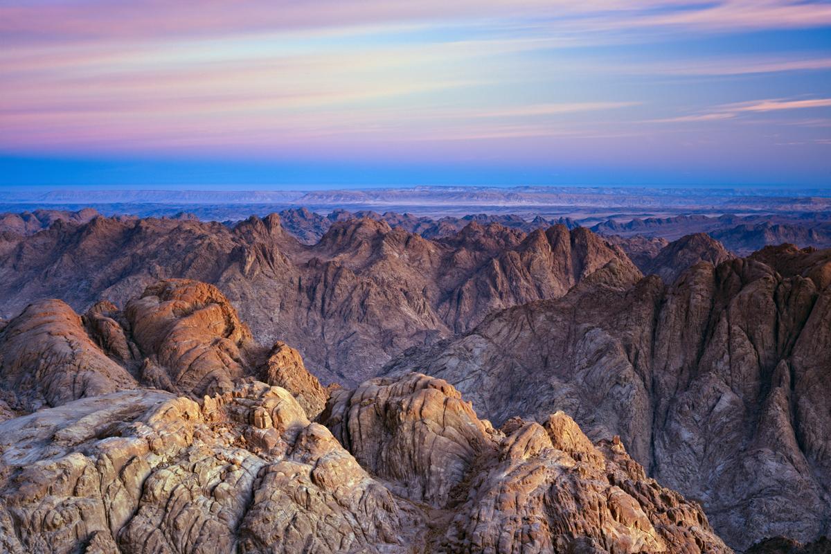 Monte Sinaí, Egipto