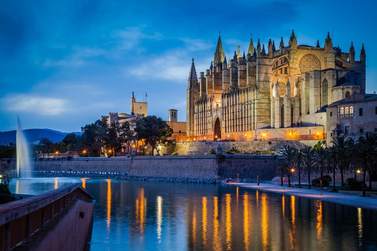 La Seu catedral, Palma de Mallorca, Mallorca, Baleares, España