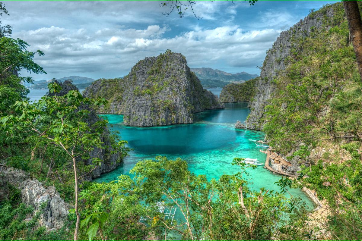 Isla Coron, Palawan, Filipinas