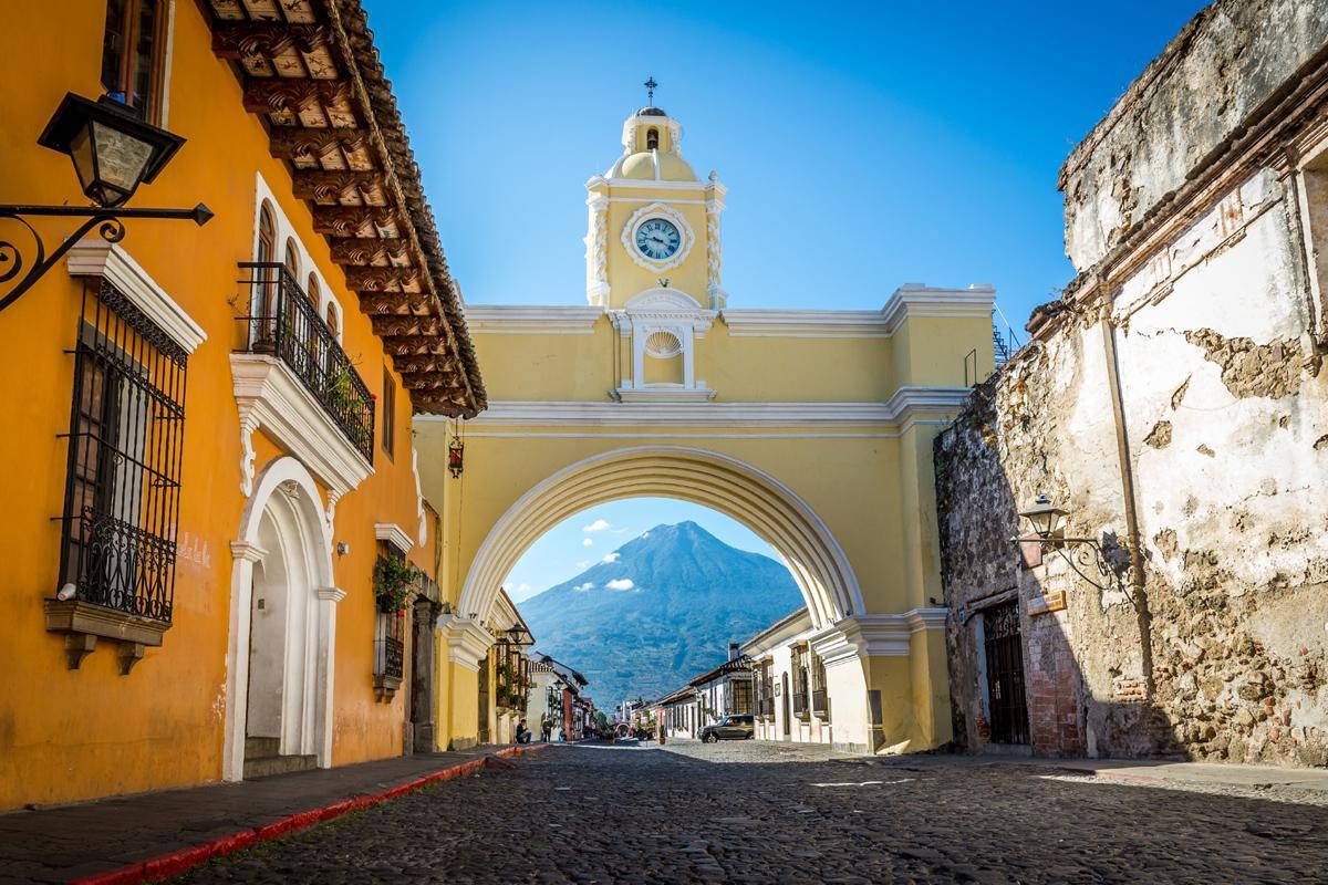 Arco de Santa María, Antigua, Guatemala