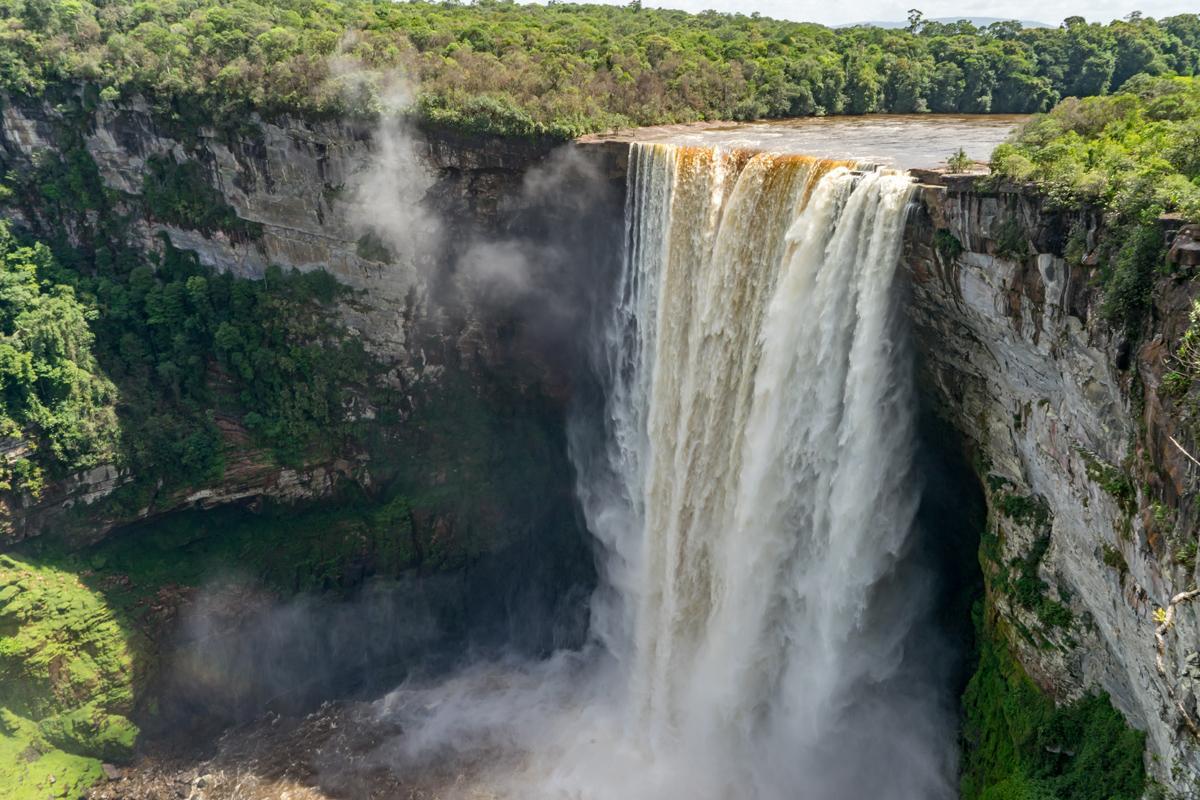 Cataratas Kaieteur, Guyana