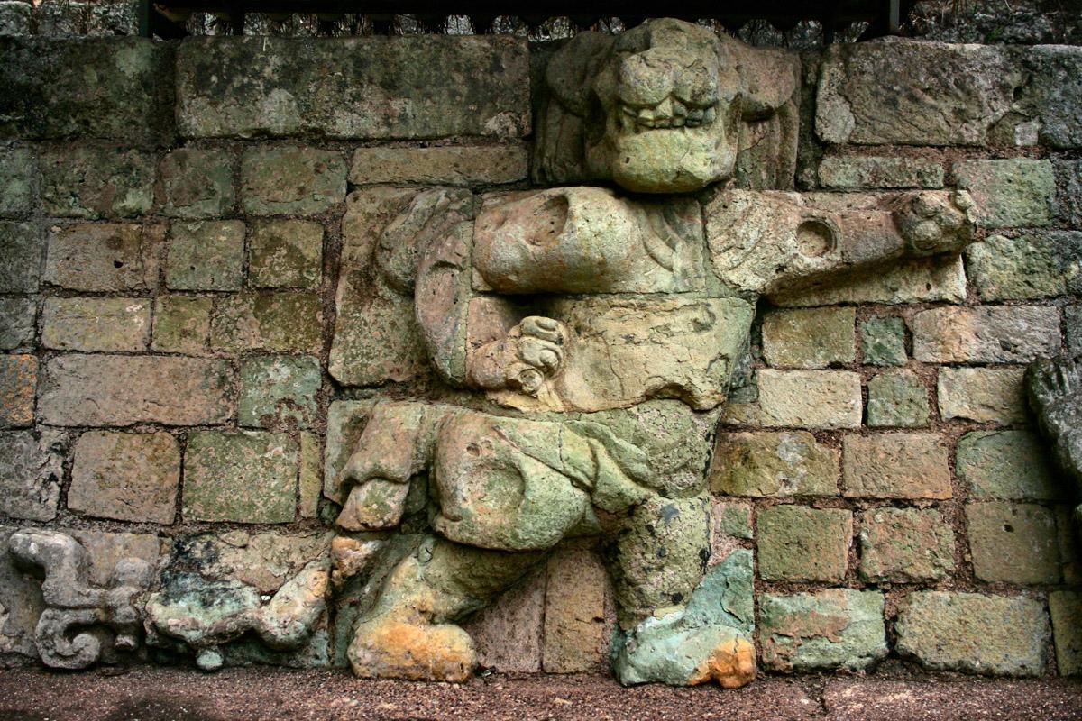 Templo de los Jaguares, Copán, Honduras